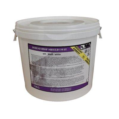 Asbestshop Shield Coat Weiß 13KG