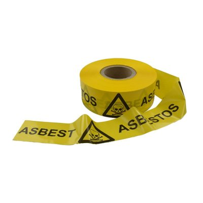 Asbest Absperrband 7,5cm x 500m